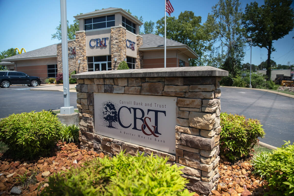 About Carroll Bank & Trust in Tennessee for personal and business banking